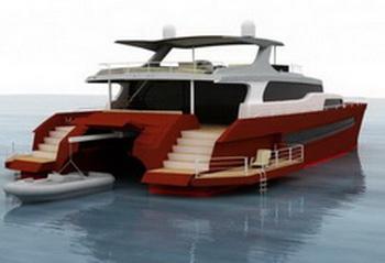 Оригинальный дизайн яхты Kharima 81'
