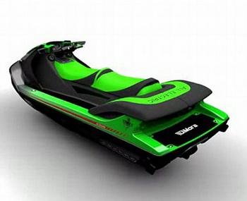 DiMora представит эко-гидроцикл Stealth Jet Ski