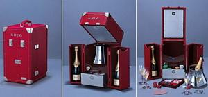 Krug представляет коллекцию шампанских вин Krug Escape Artist Champagne Trunk Collection
