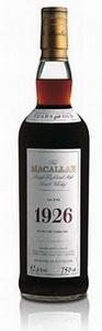 Macallan 1926 года - самый дорогой шотландский виски в мире