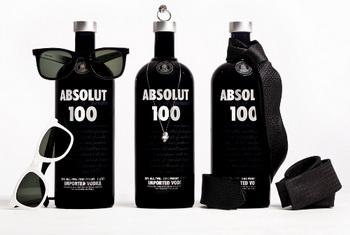 Водка Absolut 100 оделась в черное для праздника отцов в Бразилии