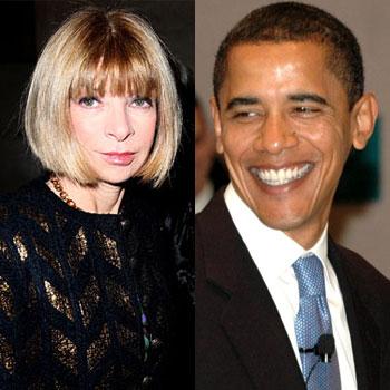 Барак Обама посетил званый ужин в доме Анны Винтур