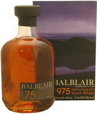Balblair 1975 признан лучшим в мире виски