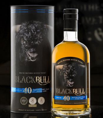 Black Bull: эксклюзивный 40-летний виски