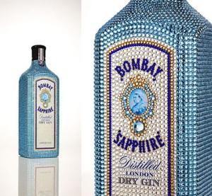 В аэропорту Мельбурна продана бутылка Bombay Sapphire дизайна Ива Беара