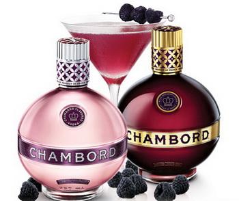 Ароматная водка Chambord Pink