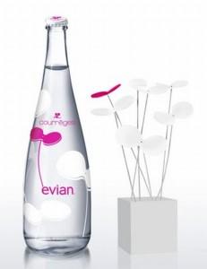 Сотрудничество Evian и Courreges: утолите жажду стильно