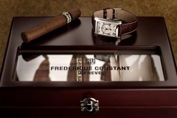 Часы и сигары - набор для роскошной жизни от Frederique Constant и Cohiba