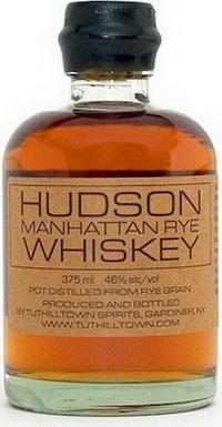 Американский виски Hudson Manhattan Rye Whiskey