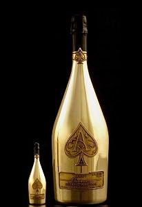 Бутылка Midas: роскошь для любителей шампанского
