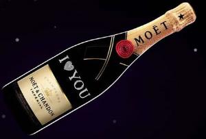 Moet & Chandon предлагает создать уникальную бутылку
