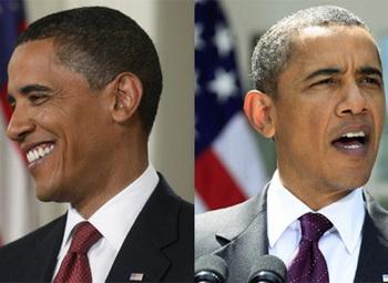 Барак Обама поседел
