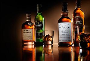 Grant's попал на третье место по продажам в мире среди производителей виски