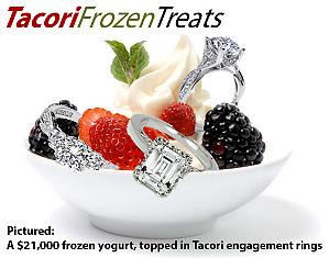 Самый дорогой в мире замороженный йогурт