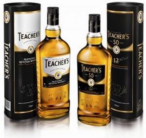 Teacher's презентовал виски в бутылке с новым дизайном