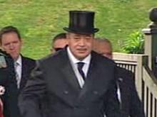 Король Тонга оправдывает свое европейское турне