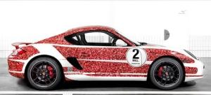 2-Mill Cayman в честь 2 миллионов поклонников Porsche на Facebook