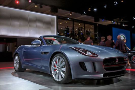 оборудование Jaguar F-Type Convertible