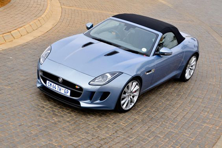 характеристики Jaguar F-Type Convertible