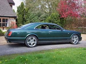 Bentley представляет эксклюзивный седан Brooklands