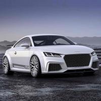 Концепт Audi TT quattro Sport 2014 года - для поклонников автоспорта