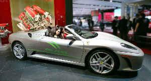Ferrari с откидным верхом