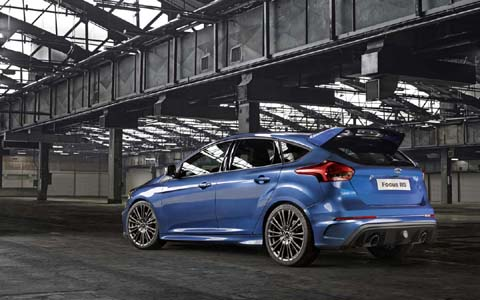 характеристики Ford Focus RS