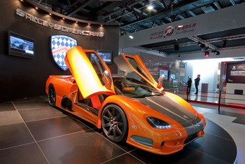 Компания Shelby SuperCars представила суперкар Ultimate Aero hyper