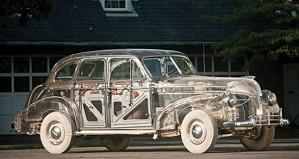 Прозрачный Pontiac с кузовом из плексигласа будет продан с аукциона