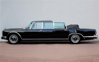 Mercedes-Benz 600 Pullman Landaulet будет продан с аукциона