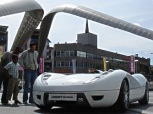 Новый суперкар на биотопливе