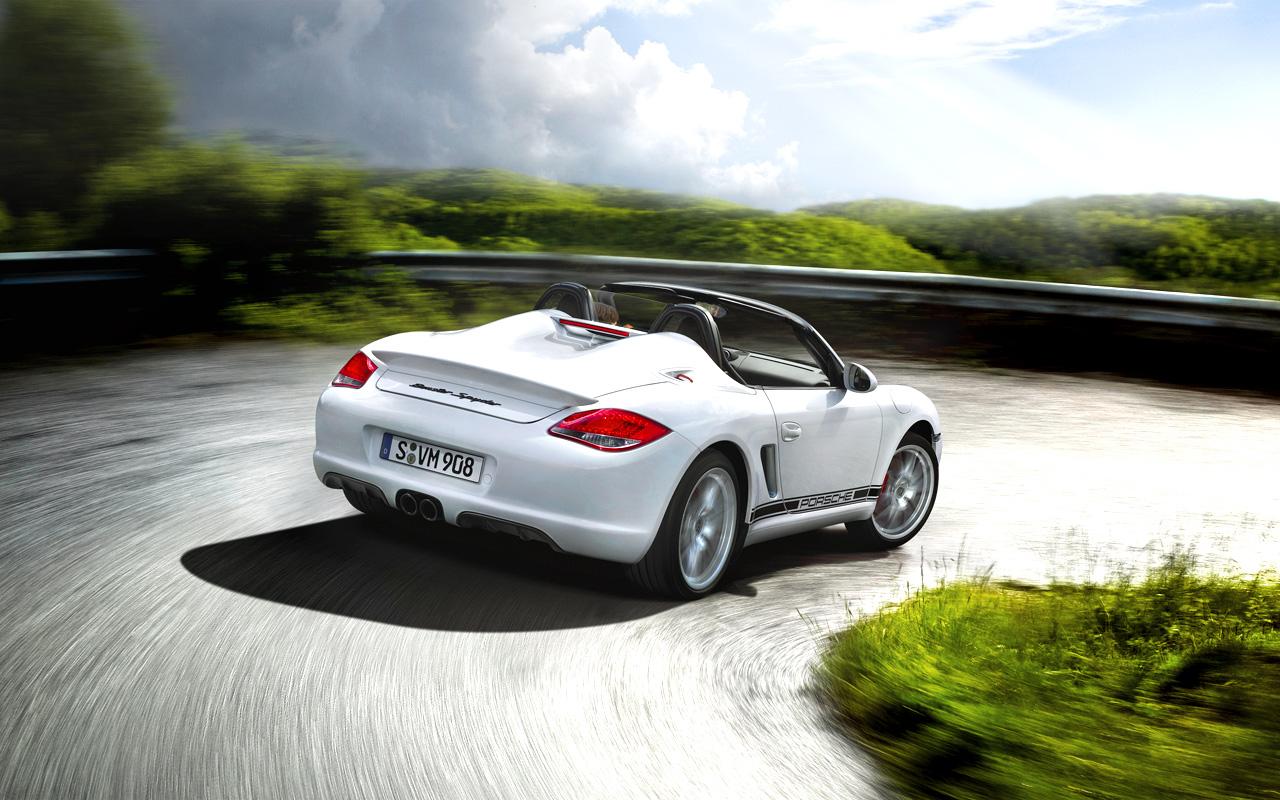 Porsche Boxster Spyder дебютировал на автошоу в Лос-Анджелесе