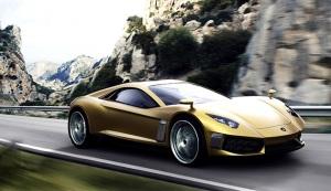 Новый концепт Lamborghini Miura GT