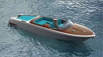 Дизайн катера Aquariva от Марка Ньюсома