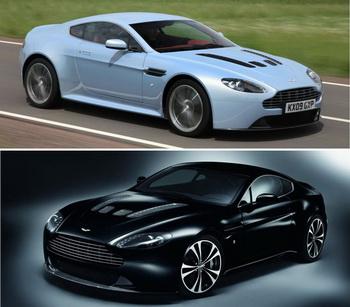 V12 Vantage и Carbon Black Special от Aston Martin