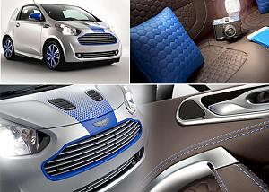 Модная версия Cygnet от Aston Martin и Colette
