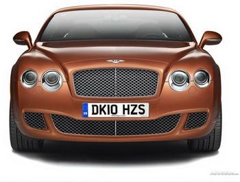 Bentley выпустил эксклюзивный автомобиль для Китая