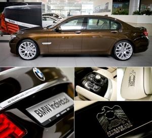 BMW 7 серии в честь юбилея ОАЭ