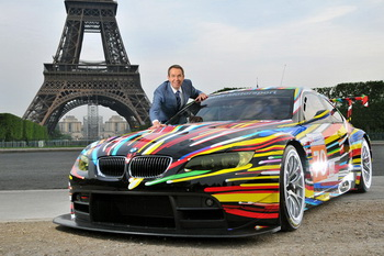 Арт кар от Джеффа Кунса для BMW