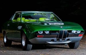 Уникальный BMW Spicup 1969 года продан с аукциона