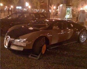 Полиция Словакии не щадит Bugatti Veyron