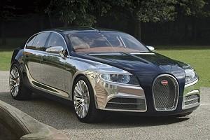 Bugatti представит гибридную версию Galibier
