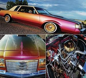 Раритетный Buick Regal 1984 года покрыли позолотой