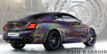 Bentley в стиле милитари от российских мастеров тюнинга