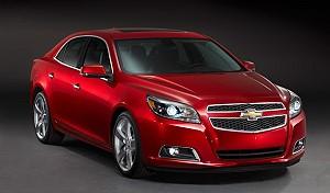 GM представила новый Chevrolet Malibu