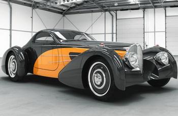 Новое творение от Delahaye USA: реставрированная Bugnotti Coupe