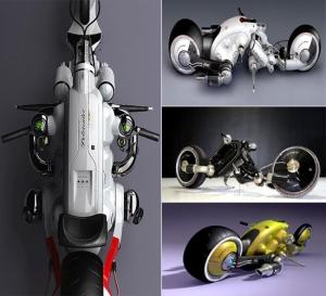 Электрический мотоцикл The Detonator