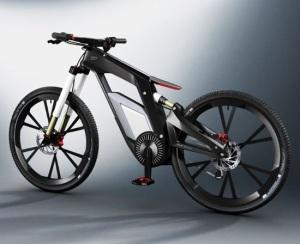 Audi представляет e-bike с бортовым компьютером