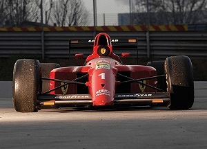 Легендарный гоночный Ferrari будет продан с аукциона