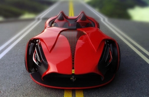 Концепт электромобиля Ferrari Millenio